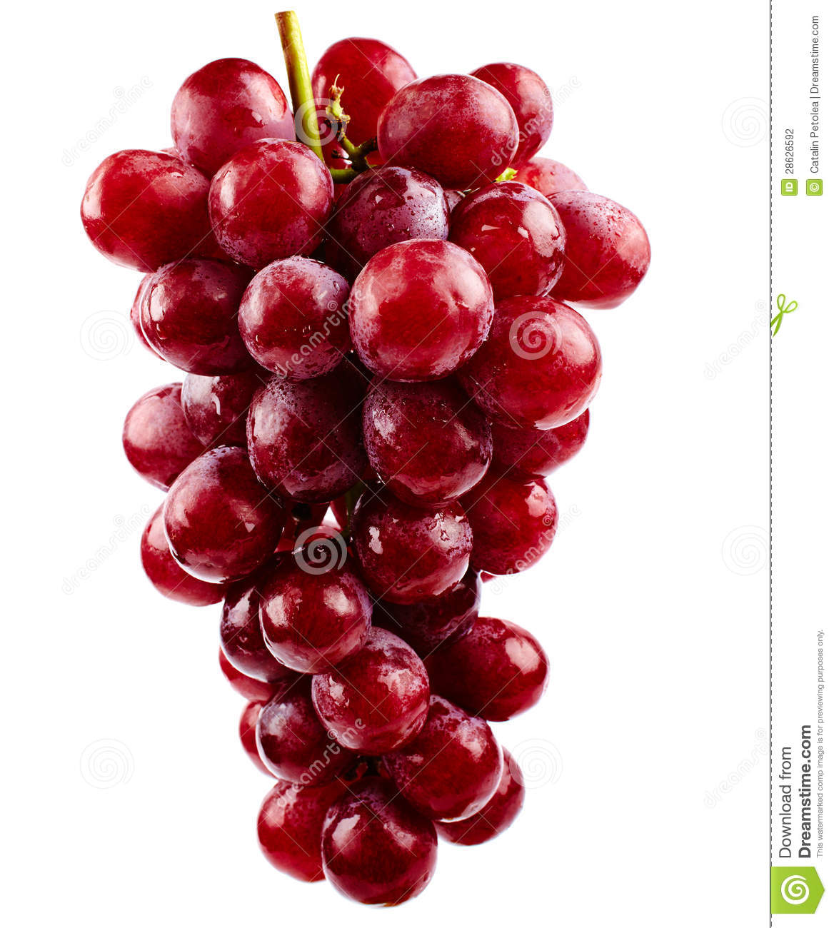 Red Grapes have the same properties that are in anti-ageing creams.