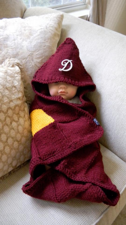 23. This knitted baby blanket.  $84.99