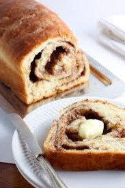 So easy! Just but Rhodes frozen white bread and thaw 1 loaf, roll out and mix 1/2 cup melted butter, 1/2 cup brown sugar, 1/2 tsp vanilla and 2 tsp cinnamon. Baste on bread, and roll into a loaf shape! Bake as directed for a delicious and easy wow recipe!