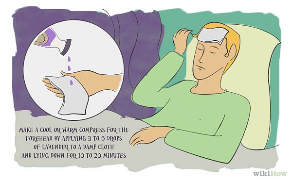 1. Use lavender to banish headaches. Most headaches are caused by tension, when the muscles of the head, neck and shoulders tighten.