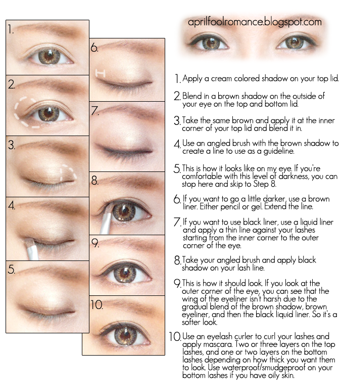 Musely -> Source : https://www.musely.com/tips/Makeup-for-beginners/18838949