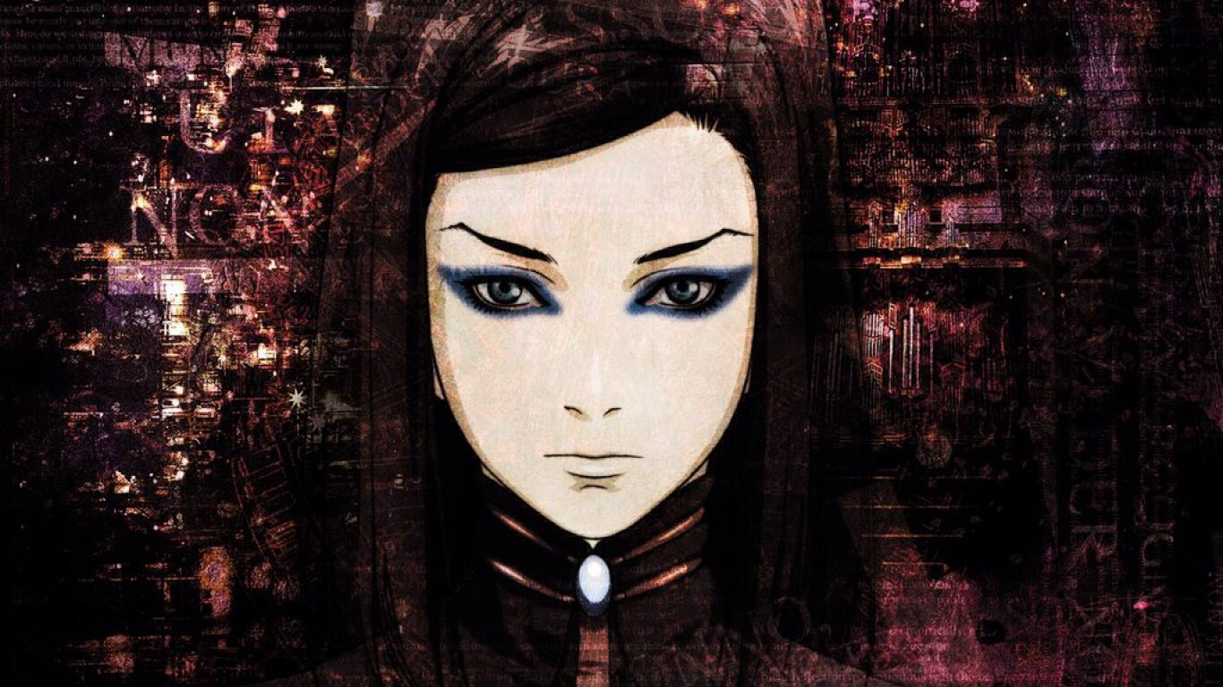 Ergo proxy: takes place in a future where robots and people co exist. A virus begins to spread which makes the robots become aware and threatens the balance of their civilization.