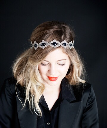 Just add a stylish headband to make it look like you wanted to look stylish, but you know it took no effort!