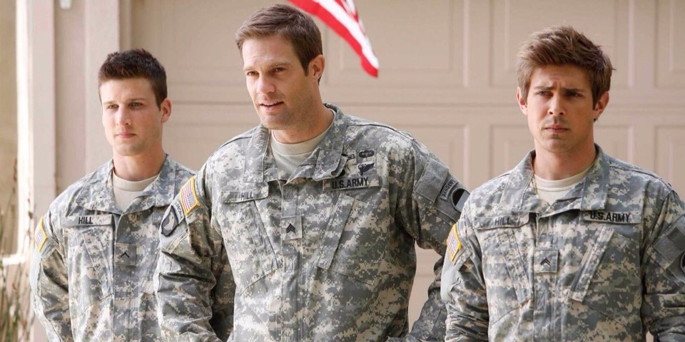 """13. """"Enlisted"""" (Fox) What it's about: A decorated Army sergeant returns from Afghanistan and is based at a Florida unit where his goofball younger brothers are stationed."""