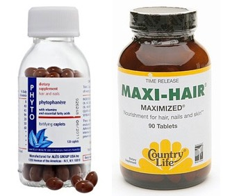 Take some supplements that help enhance hair growth and healthiness.  These do wonders and are really expensive too.  You can even get a jar at Costco :)