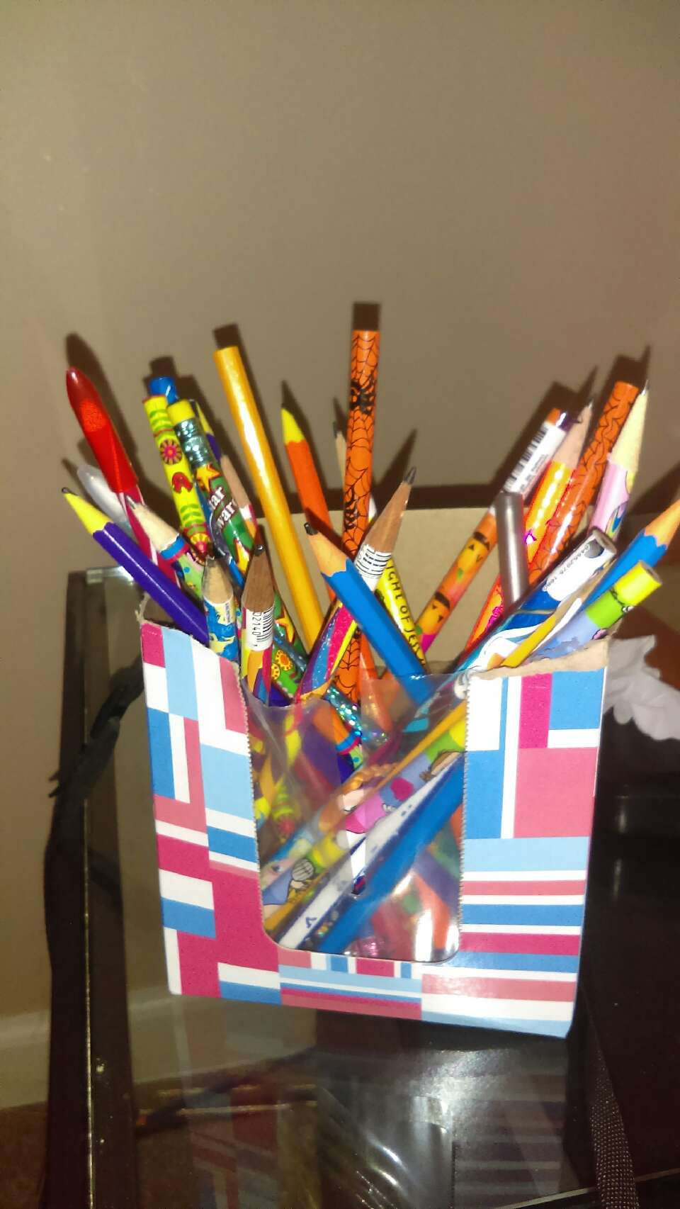 put your child's pencils in there