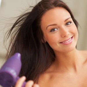 Blow dry your hair