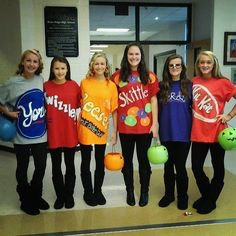 This is great you get to choose your fav candy to dress up as!
