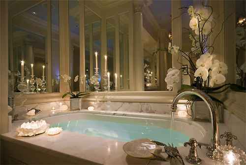 Now take a bath and just reflect. And to make the bath fun just take some scented candles and light them up maybe and a bubble bar or bath bomb. And/or and some flower petals into the water.Now you can relax and have some precious alone time.