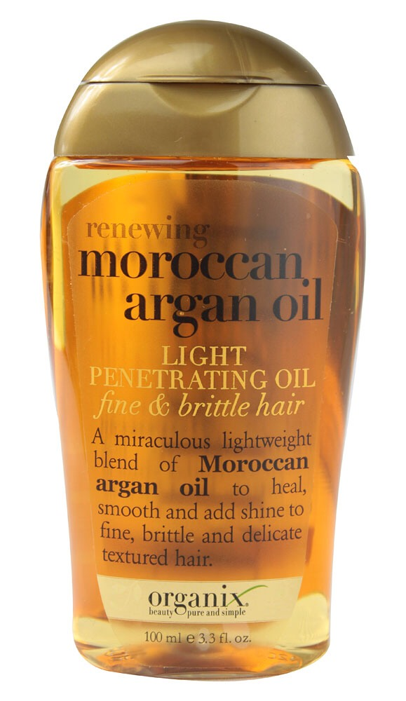 Use Moroccan oil on the ends of your hair when you get out of the shower. It will help at keeping split ends at bay and making your hair soft.