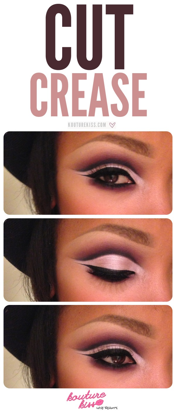 Dramatic cut crease. Good for going out!
