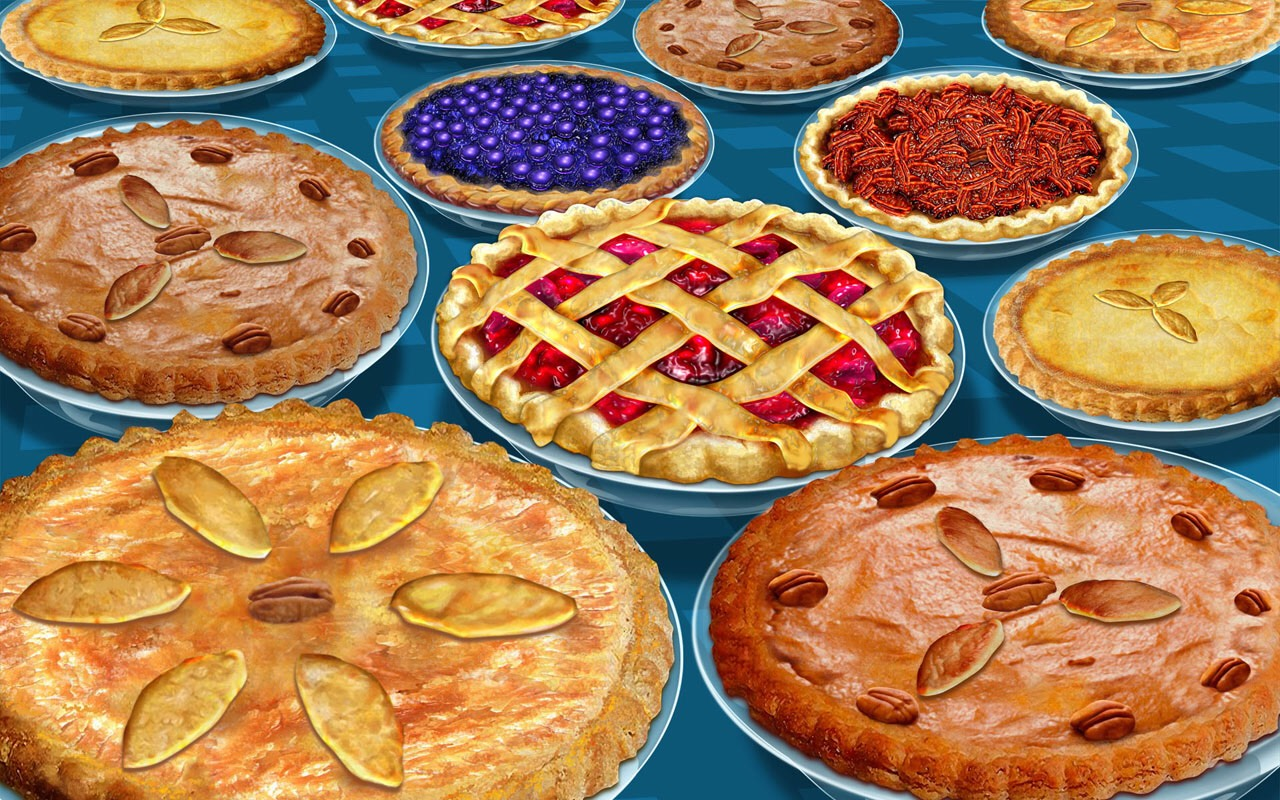 And please, don't forget the pie!