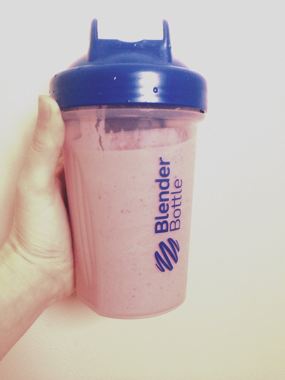 Tastes like a chocolate covered strawberry! :)