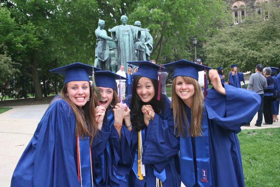 Graduate together 😽🙈