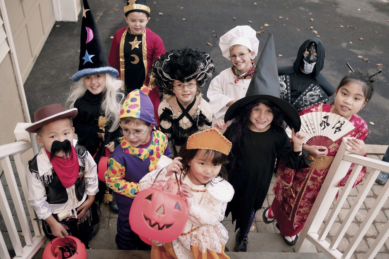 Watch out for trick or treaters on the streets