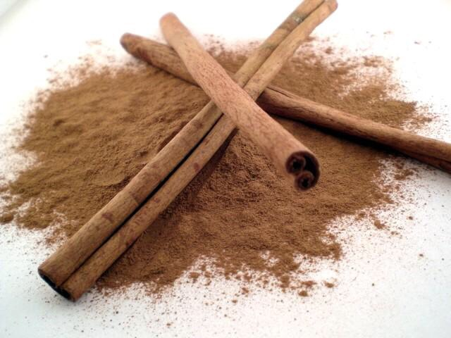 Next step.   *CINNAMON   You just need one tablespoon.
