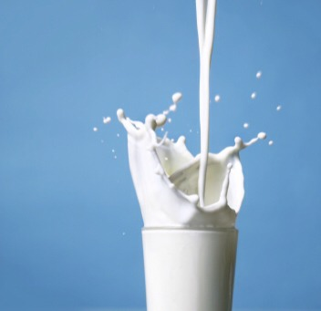 Drink a glass of cold milk!