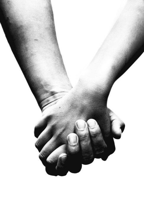 If you are with a close friend or spouse or family member, hold hands! It will calm your nerves