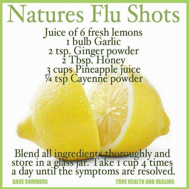 Flu & cold busting juice recipe