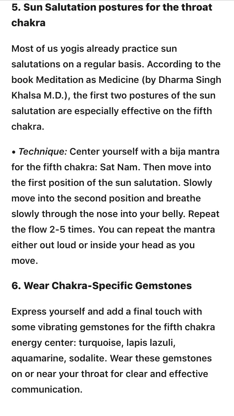 Opening Up Your Throat Chakra by Jo ⭐ - Musely
