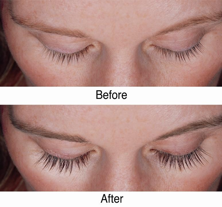 When you're going to bed apply some Vaseline on your eyelashes. Vaseline's going to help your eyelashes to grow.