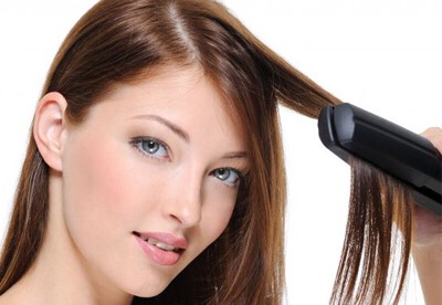Use heat protectant on hair when you:  Straighten  Blow dry  Curl  Crimping ect...