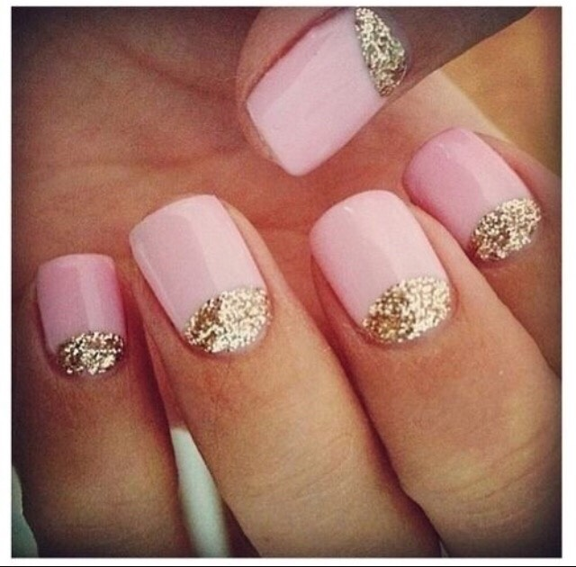 8. NEUTRAL WITH GLITTER