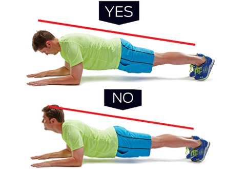15 second plank