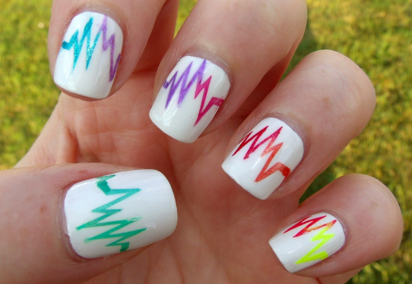 If you are a girl do Mani Pet-ti's!  You can show off your cool nails the day after!