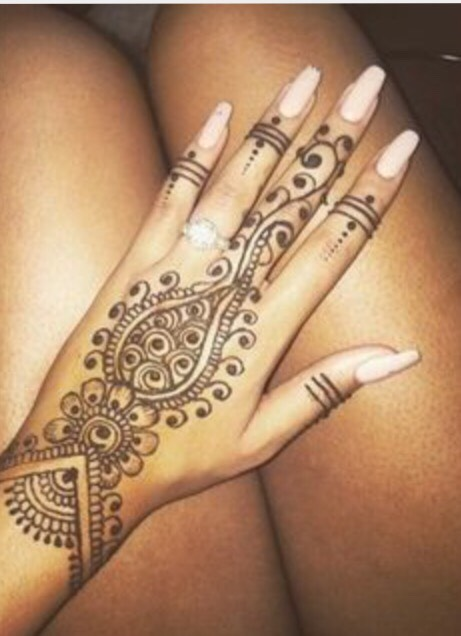 Tumblr Henna Tattoo Design By Audrey Parent Musely