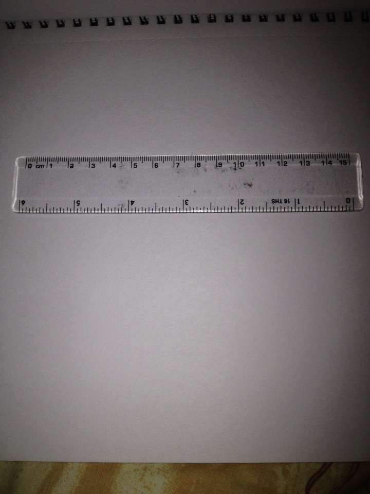 You may also want a ruler. It's not crucial, but it helps.