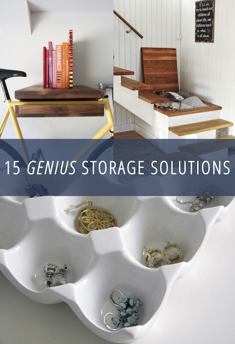 Great storage solutions can be hard to come by. Here are 15 of my favorite found storage solutions for the home. Check them out! One might be perfect for your family.