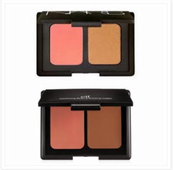#4: Eyeshadow/Bronzer Duo. (Top: Nars, Bottom: E.L.F)