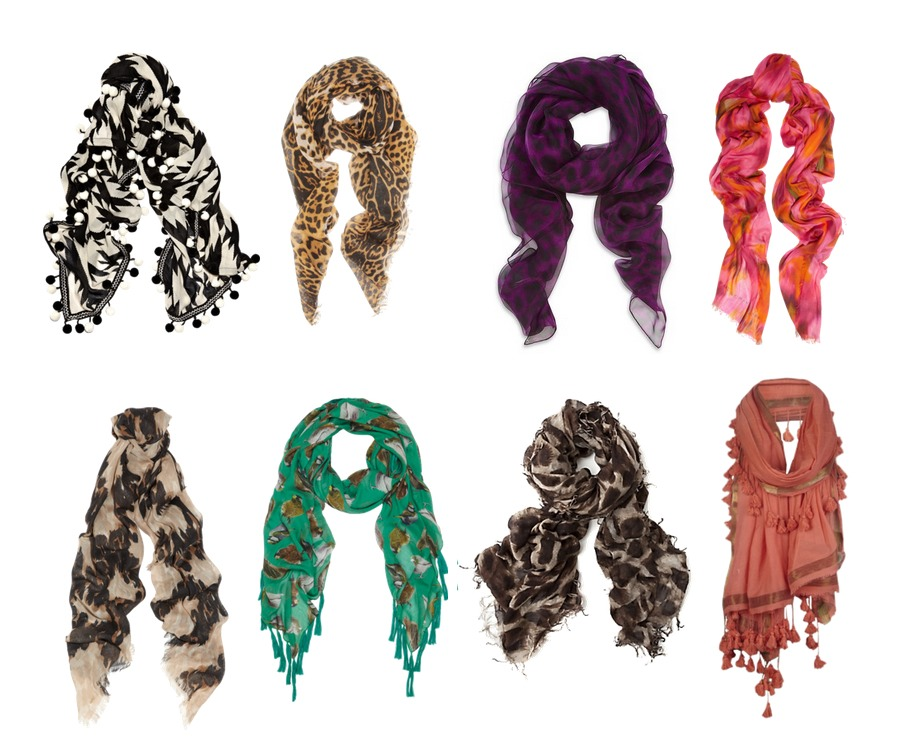 Scarves can instantly transform a boring outfit by adding a splash of color, or just make a great outfit look better.