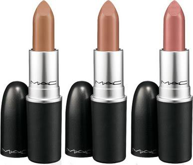 If your more adventurous try a neutral lipstick or gloss