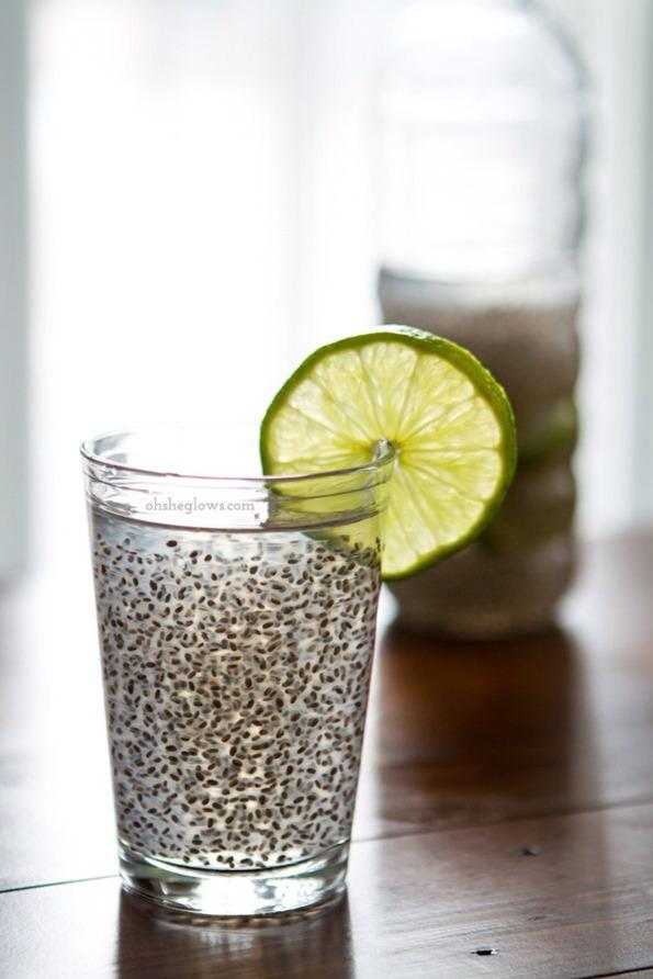 Chia Fresca Yield: 2 cups  Ingredients: 2 cups water or coconut water 1.5 tbsp chia seeds 1/2 tbsp fresh lemon or lime juice, or to taste Sweetener, to taste (I like 1/2 tbsp maple syrup)
