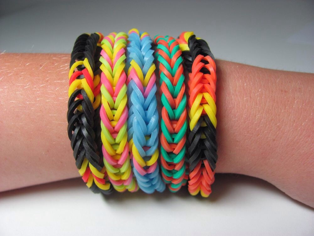 how to make infinity bracelet without loom