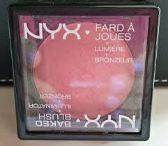 NYX Baked Blush. I Love The Color Of This! It Makes My Face Look More Natural.