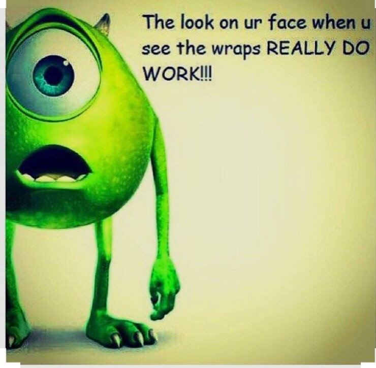 We have wraps that are crazy when it comes to toning your body! Take a look..