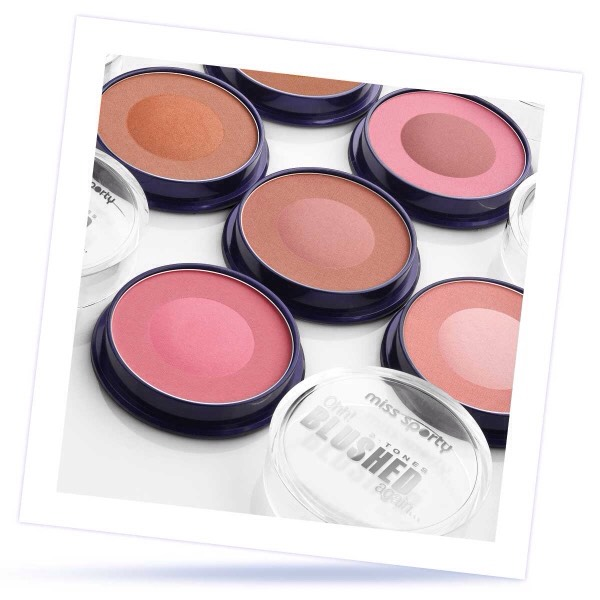 Miss Sporty blush is great ... It gives a great finished look to your makeup and the shades are amazing