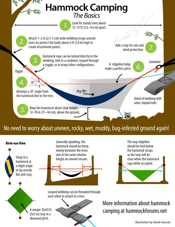 --> A Guide to Hammock Camping