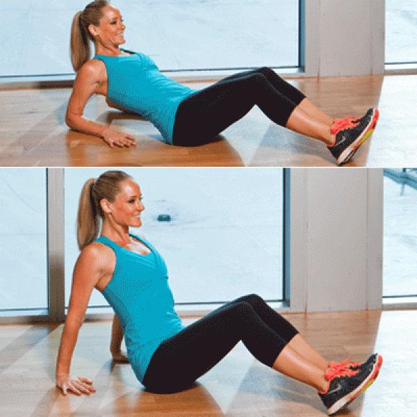 Problem: Arm Flab Solution : Reclining Triceps Press