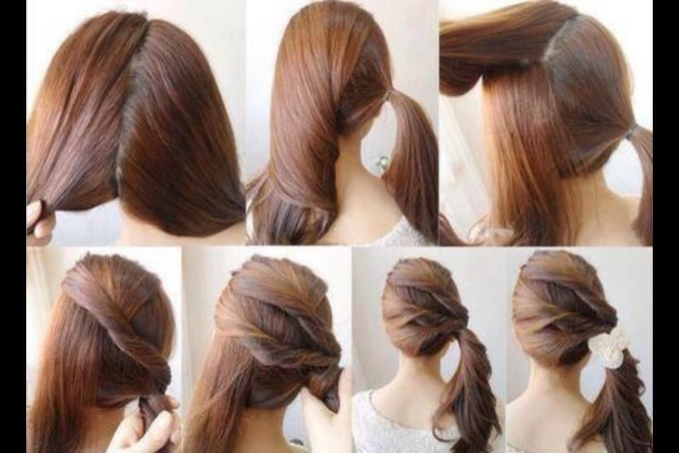 Simple Quick And Easy Beautiful Hairstyles For On The Go