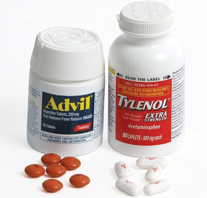 If you take pills for cramps or headaches make sure you keep some with you.