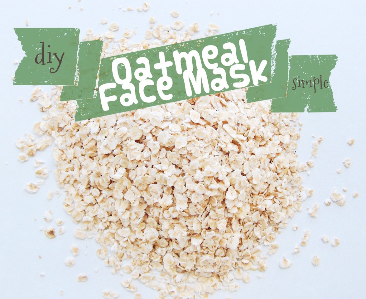 Mix two Tbs. of oatmeal, four Tbs. of plain yogurt, one tablespoon lemon juice and one Tbs. of olive oil into a paste and gently apply to skin. Leave it on for five minutes and rinse with cold water. Let your face air-dry.