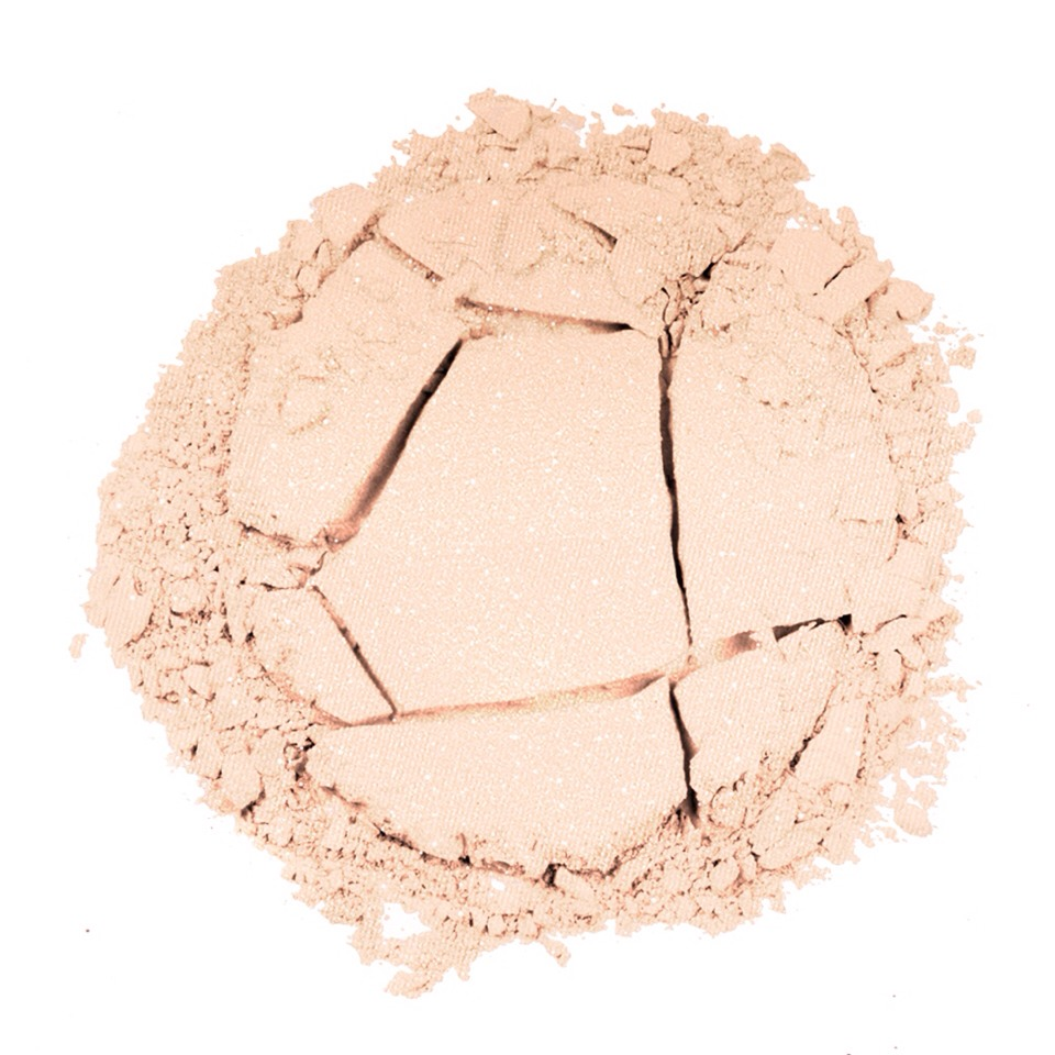 After you are finished your make up, use cornstarch as powered to help keep face matte and to help set make up