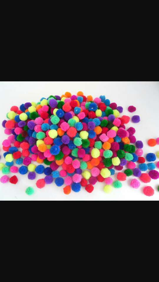 On your wedding day instead of throwing confetti give people mini pom poms to throw this will make your wedding pictures more colourful