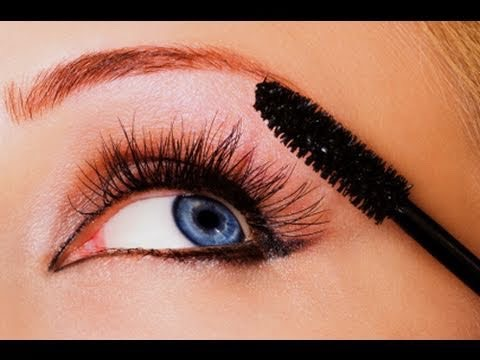 Then add the mascara.  This makes it look like your eyelashes are big and gives the clumpy look which is in fashion now a days.