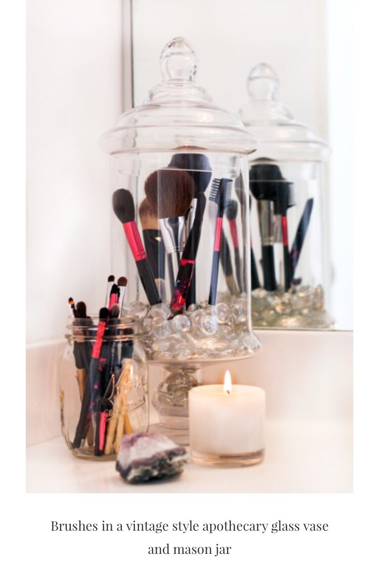 With brushes being so important for make-up use, give them the right care and attention
