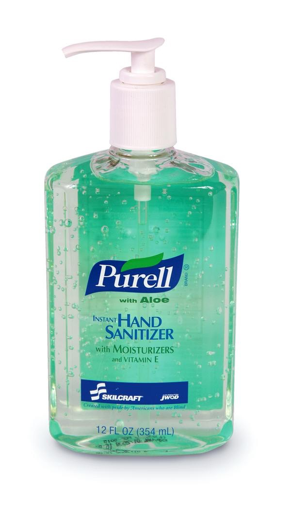 It doesn't matter what type you use, don't forget to bring a hand sanitiser to use before meals or snacks.